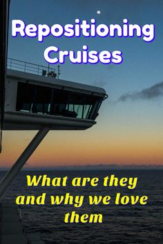 See why we love repositioning cruises. They allow us to enjoy all the benefits of for less money as the ships move to new homeports between seasons. Cruise Europe, Packing For A Cruise, Cruise Tips, Cruise Travel, Cruise Vacation, Solo Travel, Travel Tips, Budget Travel, Travel Guides