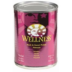 AMERICAN DISTRIBUTION & CO 8927 Wellness Duck Dog Food, 12.5-Ounce ~ For more information, visit image link. (This is an affiliate link and I receive a commission for the sales)