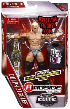 Dolph Ziggler - WWE Elite 39 WWE Toy Wrestling Action Figure