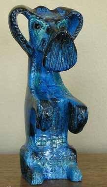 Pottery Scotty Dog by Bitossi