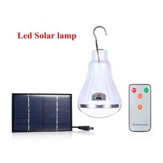 Outdoor/Indoor 20 LED Solar Licht Garten Home Security Lampe Dimmbar led solar l. Outdoor / Indoor 20 LED Solar Light Garden Home Security Lamp Dimmable led solar lamp by remote control Camp Travel Solar Garden Lanterns, Solar Pathway Lights, Pathway Lighting, Outdoor Lighting, Jar Lanterns, Lighting Sale, Diy Solar, Solar Light Crafts, Solar Camping