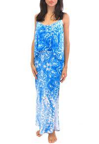 2015 Mikoh Swimwear Manihi Maxi Dress Whitewater Fiji