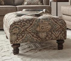 Tapestry Ocean Cliff Ottoman 8750-10100, $279.00 Ocean Cliff, Buy Furniture Online, Sofas, Love Seat, Comforters, Ottoman, Upholstery, Tapestry, Blanket