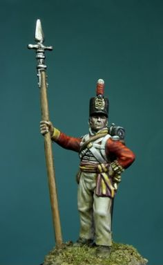 ONIRIA'S WAR PAINTS Small Soldiers, Toy Soldiers, British Soldier, British Army, Waterloo 1815, 28mm Miniatures, Military Figures, Miniature Figurines, Empire