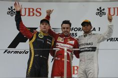 Fernando Alonso got his bid for a third world title up and running in earnest with his first win of the season at the Chinese Grand Prix. The Ferrari driver drove imperiously and hit the front for good with 13 laps left to take the chequered flag by ten seconds from Lotus' Kimi Raikkonen