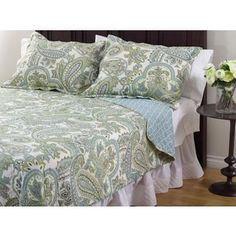 Shop for La Mirande 3-Piece Quilt Set. Get free shipping at Overstock.com - Your Online Fashion Bedding Outlet Store! Get 5% in rewards with Club O!