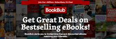 That's right, this guy! BookBub is a great way to get notifications on discounted books as well as new books! If you like discounted books, and you don't have a Bookbub profile, I HIGHL…