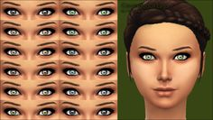 Mod The Sims - Courageous Eyes -default replacement-