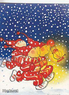 Virpi Pekkala Vintage Christmas, Christmas Cards, Christmas Fun, Button Nose, Whimsical Art, Gnomes, Finland, Martini, Illustrators