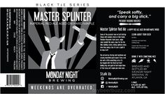 mybeerbuzz.com - Bringing Good Beers & Good People Together...: Monday Night Brewing Black Tie Series - Master Spl...