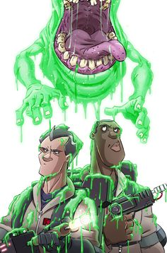 Ghostbusters #2 by TraditionalDanimatio