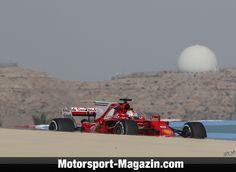 Formel 1 2017, Bahrain GP, Sakhir, Sebastian Vettel, Ferrari, Bild: Sutton