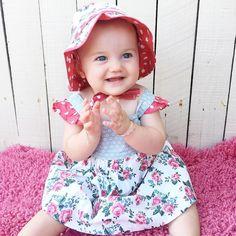 Always Clapping hands this little One .  Joyful Baby Girl _  Hattie Angel , Australian ~_Dec 30-2015. _ Darling.  Purity.