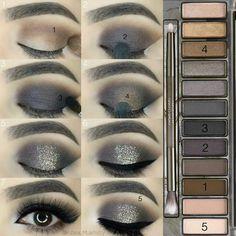 Gorgeous Makeup: Tips and Tricks With Eye Makeup and Eyeshadow – Makeup Design Ideas Eye Makeup Steps, Natural Eye Makeup, Eyeshadow Makeup, Makeup Brushes, Gray Eyeshadow, Makeup Eraser, Highlighter Makeup, Sephora Makeup, Make Up Tutorial Contouring