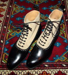 The Perfect Boot, late 1800's-early 1900's, also known as the Victorian and Edwardian era's... Crockett & Jones