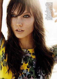 ☆ Karlie Kloss   Photography by Mario Testino   For Vogue Magazine US   December 2011 ☆ #Karlie_Kloss #Mario_Testino #Vogue #2011