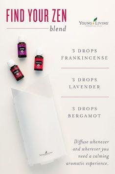 Young Living Essential Oils #aromatherapyrecipes