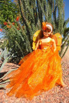 flower fairy costume halloween costume orange by lizandlaurie 4000 - Halloween Costumes In Phoenix