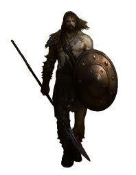 54mm Persian warrior Mercenary Phrygian spearman Tin soldier Collectible