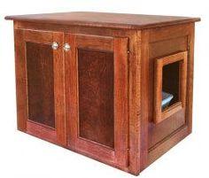 Amazon Com Xxl Odor Free Cat Litter Box Cabinet Low 4