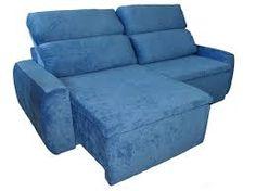 Resultado de imagem para sofá azul