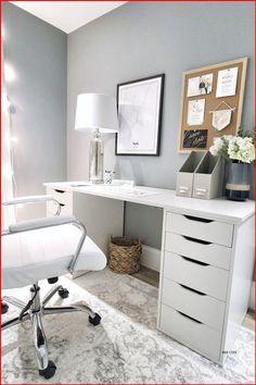 Ikea Alex Desk, Ikea Alex Drawers, White Desk With Drawers, Ikea Desk Top, Desks At Ikea, Diy Desk, Ikea Office Drawers, Desk With Mirror, Ikea Desk Chair