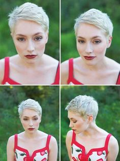 Photos of Pixie Haircuts for Women - Would dis look good on Hannie's head? (in brown, of course)