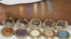 Milani Cosmetics Bella Eyeshadow Swatches. #milani #eyeshadow #bellaeyeshadows