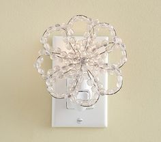 Crystal Flower Nightlight | Pottery Barn Kids