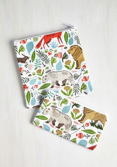 Woods You Join Me? Snack Set - From the Home Decor Discovery Community at www.DecoandBloom.com