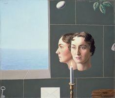 René Magritte. Georgette, 1935.