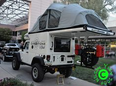 Jeep 4x4 Overland Camper