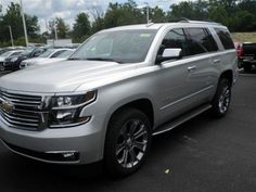 2016 silver chevy tahoe - Google Search