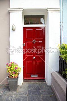 exterierové dvere červené - Hľadať Googlom