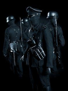101 Character Inspiration, Character Art, Character Design, Dark Fantasy Art, Dark Art, Shadow People, German Soldiers Ww2, Creepy Art, Luftwaffe