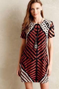 Roopa Pemmaraju Petra Silk Shift Dress - anthropologie.com #anthroregistry