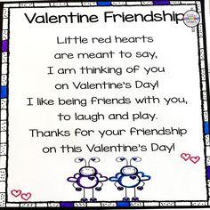Valentine Friendship poem