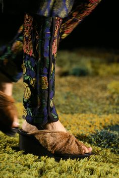 Dries Van Noten Spring 2015 RTW Collection, these shoes. Image via Style.com
