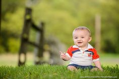 6 Month Portraits | KJ | Mike Landis Photographer