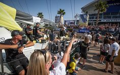 Brand-building in Alicante and beyond during Volvo Ocean Race start.