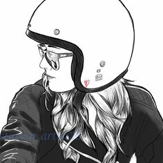 Starvin Artist28 – My new favorite motorcycle sketch artist