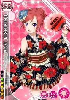 #143 Nishikino Maki SR idolized