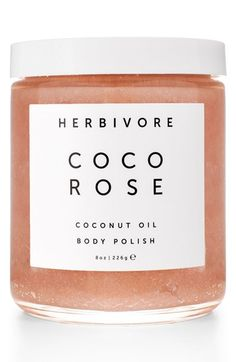 This highly moisturizing and gently exfoliating blend of virgin coconut oil and delicately floral Bulgarian rose leaves the skin soft and hydrated.
