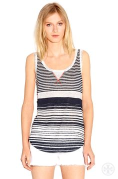 love this @ToryBurch Tulia Tank ... in fact, I think I might have already pinned it...