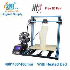 Crealit CR-10 S4 large printing size DIY desktop 3D printer 400*400*400 mm printing size multi-type filament with heated bed
