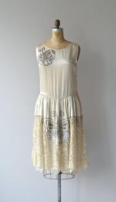 Bombyx Mori dress vintage 1920s wedding dress by DearGolden