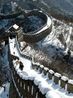 Great Wall of China Pictures. The list below will take you on a fascinating tour of the Great Wall of China. Its one of the seven wonders of the medieval world. Places Around The World, Oh The Places You'll Go, Places To Travel, Around The Worlds, Wonderful Places, Beautiful Places, Amazing Places, Great Wall Of China, In China