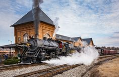 Southern #630 at Bristol, VA station while on excursion trip.