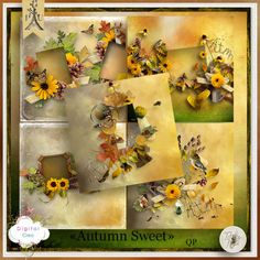 Autumn Sweet de Tif Scrap - qp