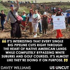 #NativeLivesMatter #NoDAPL